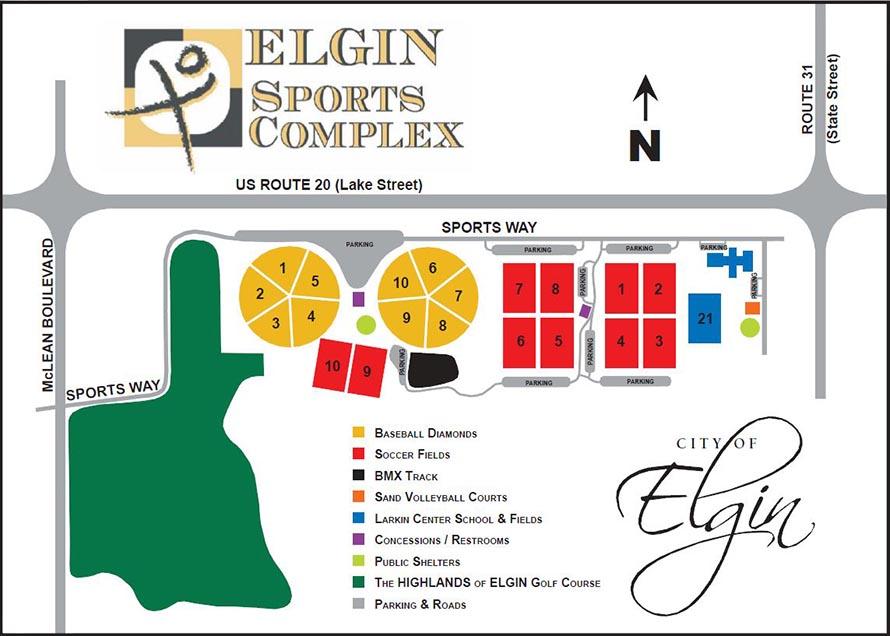 elginsportscomplexfieldmap Play JP Sports