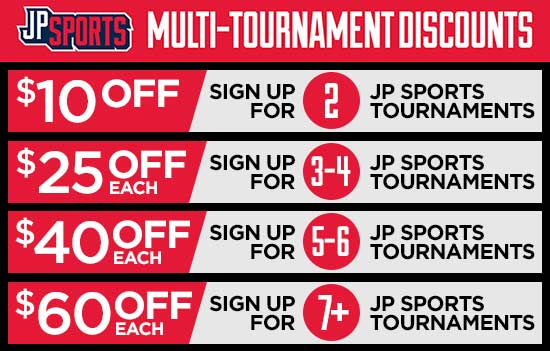 Multi-tournament discounts