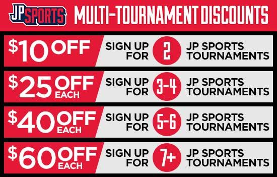 baseball tournament discounts